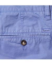 Façonnable - Blue Maverick Cottontwill Shorts for Men - Lyst