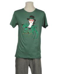 Impure Green Short Sleeve T-shirt for men