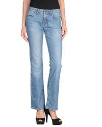 Jucca Blue Denim Trousers
