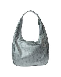 Lancetti Green Large Fabric Bag