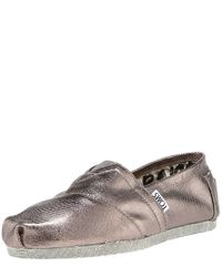TOMS | Bennet Metallic Slipon for Men | Lyst