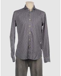 Xacus Blue Long Sleeve Shirt for men