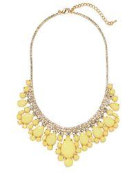 BaubleBar - Yellow Machu Picchu Collar - Lyst