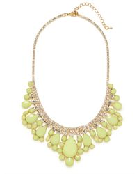 BaubleBar | Green Lime Snow Collar | Lyst