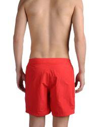 Chucs Red Swimming Trunks for men