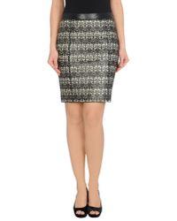 DROMe Brown Leather Skirt