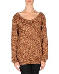 Marc By Marc Jacobs Multicolor Leopard Print Sweater