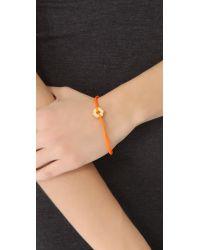 Marc By Marc Jacobs - Orange Bolt Friendship Bracelet - Lyst