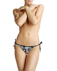 Reebok Black Bikini Bottoms
