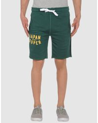 Superdry | Green Sweat Shorts for Men | Lyst