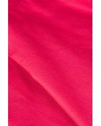 TOPSHOP - Pink Cut Out Sun Dress - Lyst