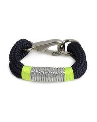 BaubleBar - Blue The Ropes Maine Navy Kennebunkport Bracelet - Lyst