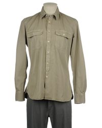 Glanshirt Natural Long Sleeve Shirt for men