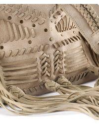H&M Natural Suede Bag