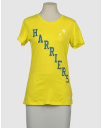 Nike Yellow Short Sleeve T-shirt