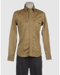 Robert Friedman Natural Long Sleeve Shirt for men