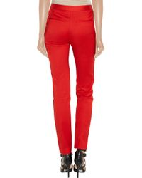 T By Alexander Wang Cropped Stretchtwill Tapered Pants