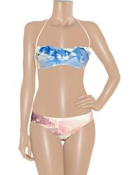 We Are Handsome Multicolor The Anchorage Printed Halterneck Bikini