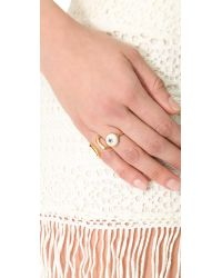 Elizabeth and James Metallic Plated Victorian Star Ring