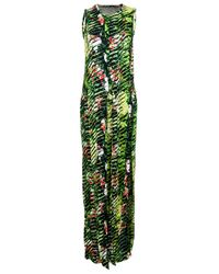 KENZO | Green Sleeveless Dress | Lyst