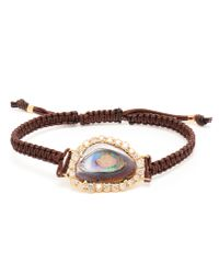 Kimberly Mcdonald | Brown Yowah Opal and Macramé Bracelet | Lyst