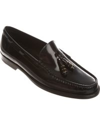 Saint Laurent - Black Classic Tassel Loafer for Men - Lyst