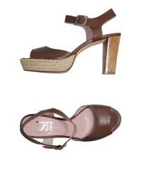 Si By Sinela Natural Platform Sandals