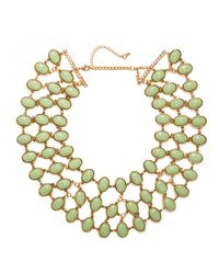 BaubleBar | Green Mint Cabochon Necklace | Lyst