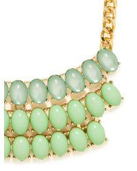 BaubleBar | Green Mint Threetier Bib | Lyst