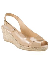 John Lewis Natural Elodie Espadrille Wedge Heel Sandals
