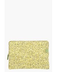KENZO | Green Yellow Graphic Printed Laptop Case for Men | Lyst