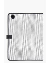 Marc By Marc Jacobs - White Black Woven Wild Card Ipad Case - Lyst