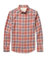 Rag & Bone Red Yokohama Shirt for men