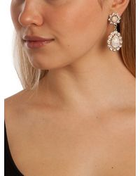 BaubleBar | Metallic Opal Floral Drops | Lyst