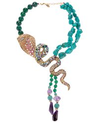 Katerina Psoma | Multicolor Snake Necklace | Lyst