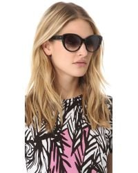 DITA Black Amant Sunglasses