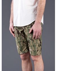 Mark McNairy New Amsterdam Green Boy Scout Shorts for men