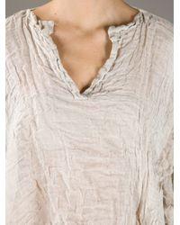 Daniela Gregis Natural Crinkle Shirt