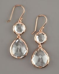 Ippolita Metallic Rose Snowman Earrings
