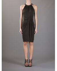 Michael Kors Brown Twist Dress