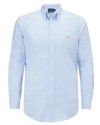 Polo Ralph Lauren - Blue Polo Golf By Polo Ralph Lauren Custom Fit Long Sleeve Shirt for Men - Lyst