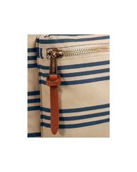 Herschel Supply Co. Blue Settlement Plus Stripe Backpack for men