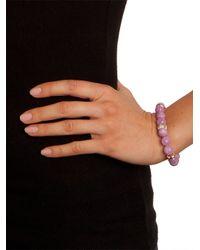 BaubleBar - Pink Lavender Mala Bracelet - Lyst
