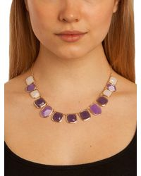 BaubleBar | Natural Purple Gemstone Strand | Lyst