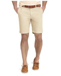 Brooks Brothers | Natural Garment-dyed Twill Bermuda Shorts for Men | Lyst