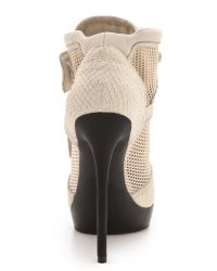 DKNY Natural Pulse High Top Platform Booties
