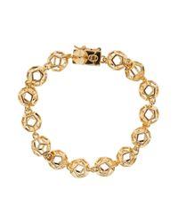 Eddie Borgo | Metallic Caged Nova Bracelet | Lyst