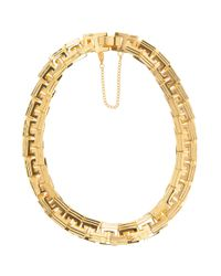 Eddie Borgo | Metallic Helix Square Link Necklace | Lyst