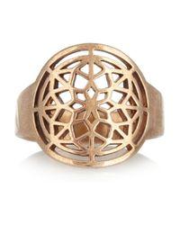 Pamela Love Metallic Window Cutout Bronze Ring