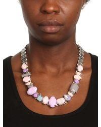 BaubleBar - Metallic Adia Kibur Pastel Gem Rock Necklace - Lyst